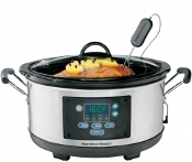 HAMILTON BEACH Set 'N Forget™ Programmable Slow Cooker 33966C