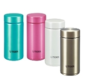 TIGER Ultra Light Stainless Bottle MMP-G020 AT/WP/PH/XC 0.2L