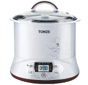 Tonze Electric Stew Pot DGD22-22EG 2.2L+0.65L