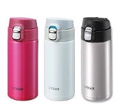 TIGER Ultra Light Stainless Bottle MMJ-A036 WW/XC/PA 0.36L