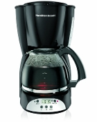 HAMILTON BEACH Electric Coffee Maker 49465