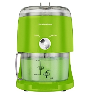 HAMILTON BEACH Ice Shaver 68508 Green