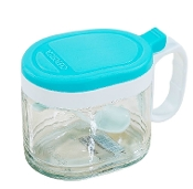 Glass Condiment Container 400mL 6013