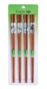 Bamboo Chopsticks KZ1459 (4 Pair)