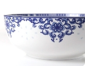 Charming Flower Procelain Bowl LL203-8""