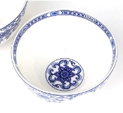 Charming Flower Procelain Bowl LL152-6""