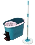 Pedal Spin Dry Mop Set MC298