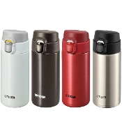 TIGER Light Weight Stainless Bottle MMY-A036 RY/WP/TV/XC 0.36L