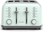 BUYDEEM 4-Slice Toaster, Extra Wide Slots with High Lift Lever